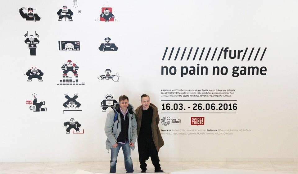 No Pain No Game – 16.03. – 26.06.2016 Soloexhibition @ Museum für Kommunikation Berlin