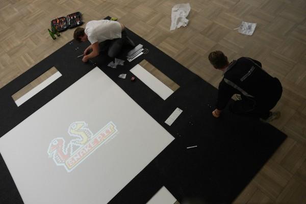 No Pain No Game – setup in Krakow