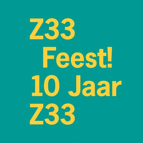 10 Jaar Z33 Feest